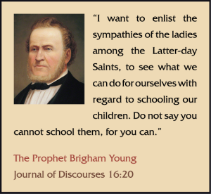 LDS Homeschooling Memes Brigham Young 1 o