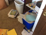 papers and workbooks not being used