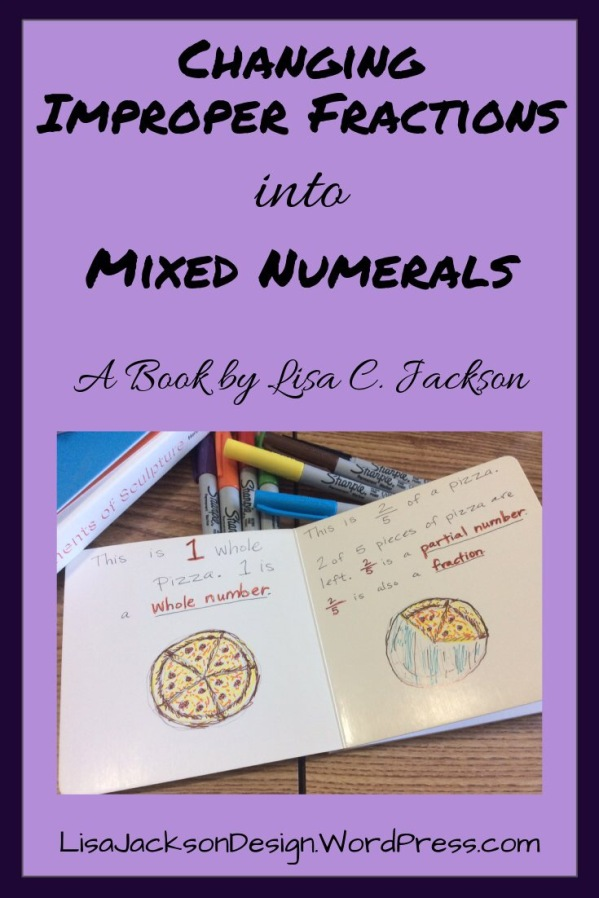 Changing Improper Fractions into Mixed Numerals